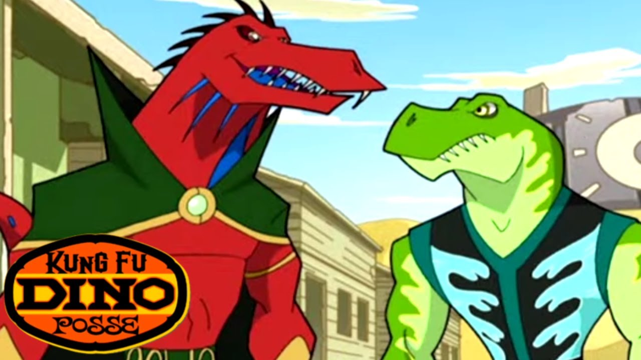 Kung Fu Dino Posse - Trouble in the Woods | Full Episode