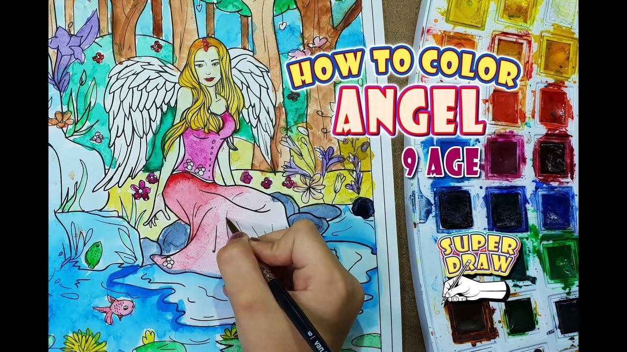 How To Color Angel Enjoyable And Funny Videos 3 Rüya
