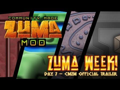 Community Made Zuma Mod - OFFICIAL VIDEO TRAILER // SPHEREMATCHERS ZUMA WEEK - DAY 7