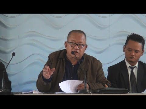 Hriata Chhangte on False Affidavit of Mizoram Chief Minister | Press Conference | 19.01.2018