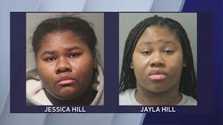 Sisters accused of stabbing em…