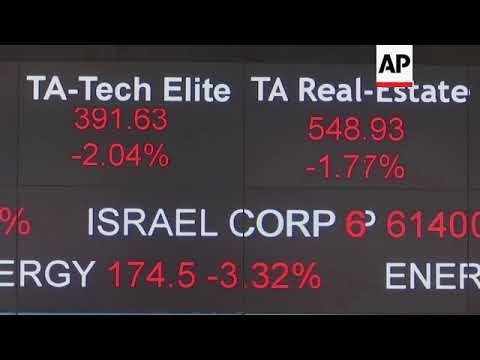 Middle East Stock Markets Tumble