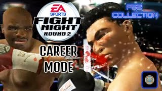fight night round 2 Career Mode (Playstation 2)