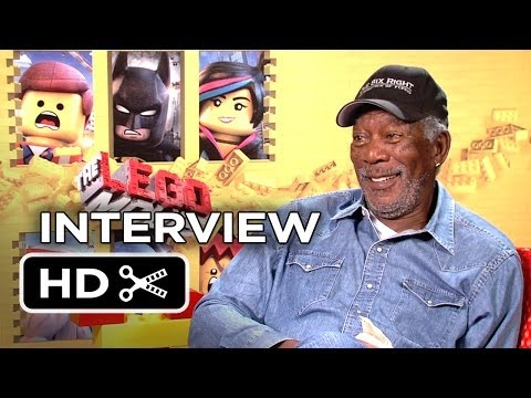 The Lego Movie Interview - Morgan Freeman (2014) - Animated Movie HD