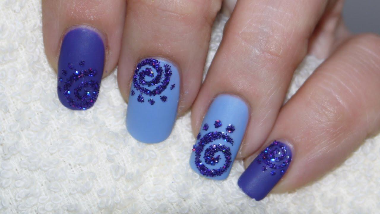 Easy Nail Art Glitter: Glitter nail designs ideas for everyday ...