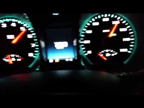 Chevy Malibu 2015 0-top speed run