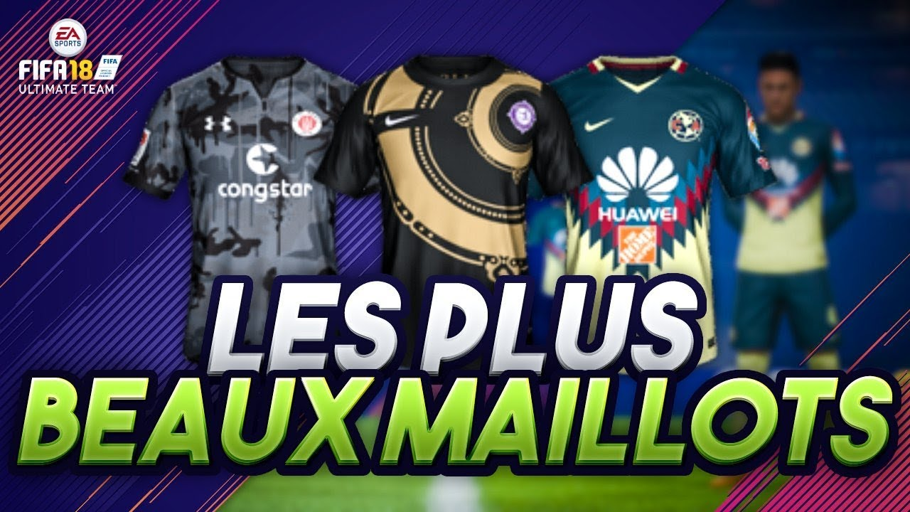 fifa 18 les plus beaux maillots youtube. Black Bedroom Furniture Sets. Home Design Ideas