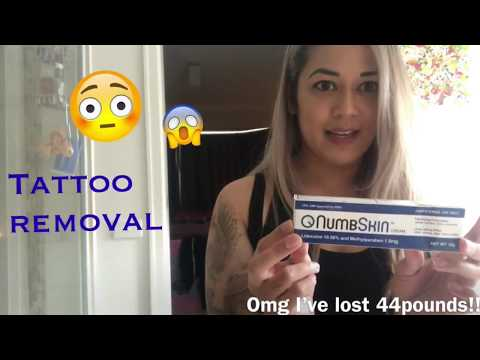 Using Numbskin Tattoo removal - BEST numbing cream