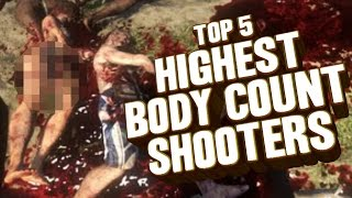 Top 5 - Shooters with the highest body count