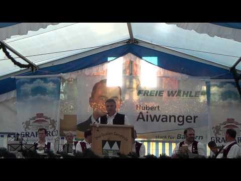 Politischer Montag der Freien Wähler Wurmsham Landrat Peter Dreier Teil 1