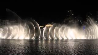 Dubai Fountain  - Wen Bie  吻别