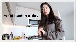 What I Eat in a Day (moved into my NYC apartment!)