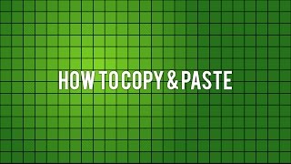 How to copy and paste in roblox (2017)