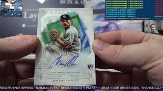 2019 Topps Inception Baseball Hobby 16 Box Case Break #4   RANDOM TEAMS