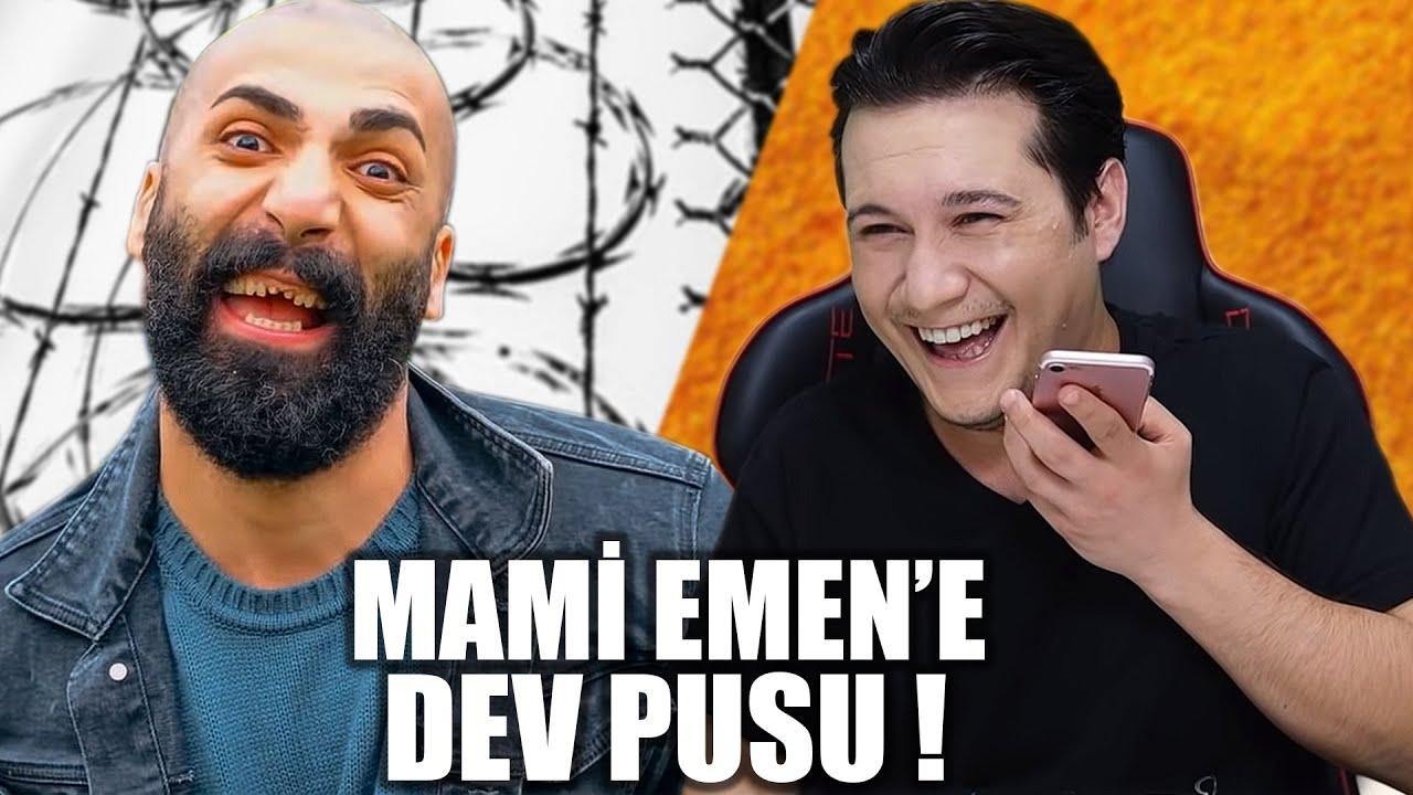 MAMİ EMEN'E DEV PUSU YAPTIK EMRE GÜL İLE BİRLİKTE !