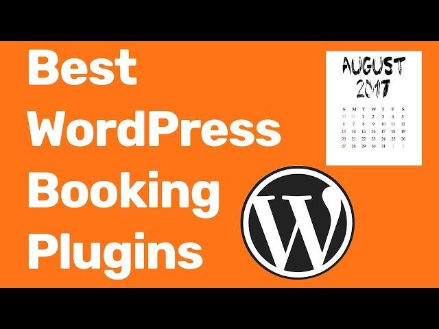 Best WordPress Booking Plugin 2018