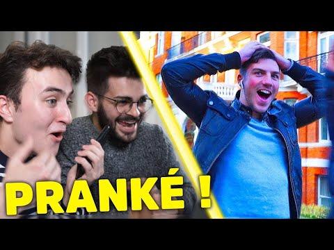 PRANK: ENVOYER UN AMI À L'ÉTRANGER POUR RIEN (feat. FASTGOODCUISINE et CÉDRIC)