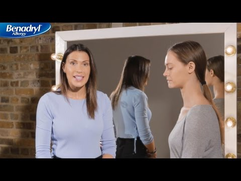 Face up to Summer Allergies with Makeup tips for Allergy Face™ | BENADRYL ALLERGY®