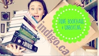 June Book Haul + Unboxing Thumbnail