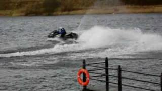 Yamaha FXSHO at Fosse Hill Jetski Center.wmv