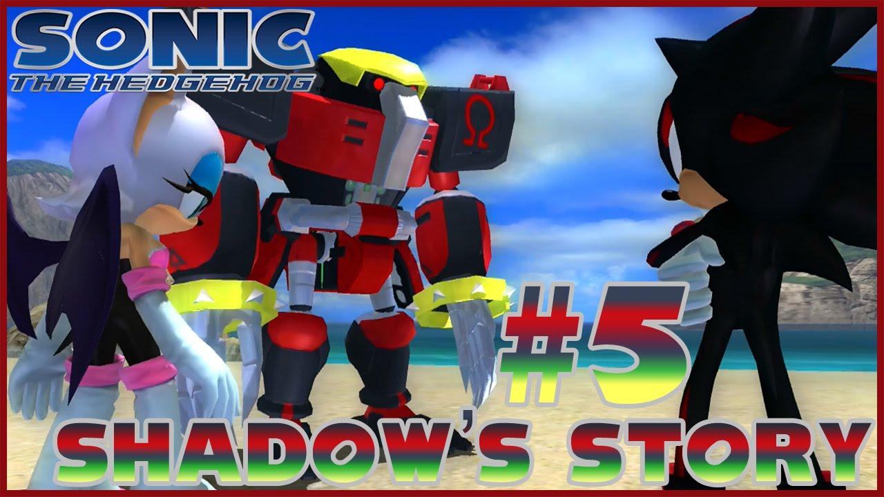 sonic the hedgehog 2006 shadow story