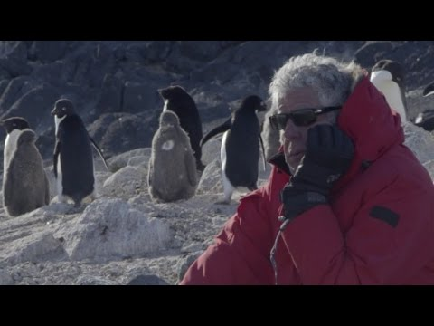 When Anthony Bourdain Went to the Bottom of the World
