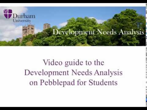 Organisation Development  Durham\u0027s Development Needs Analysis