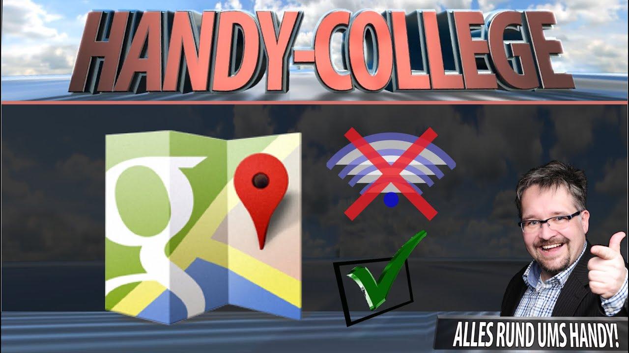 Google Maps Offline Nutzen
