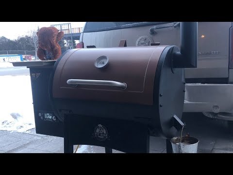 Pit Boss Pellet Smoker/Grill How To Cook A Beer Can Chicken