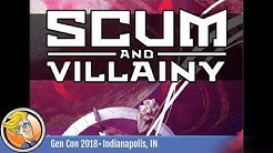 Scum and Villainy — RPG overview at Gen Con 2018