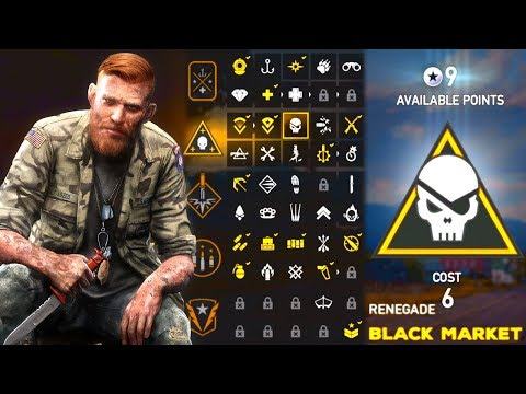 Far Cry 5 Early Gameplay : Perk Unlocks, Customization, & Map Size!