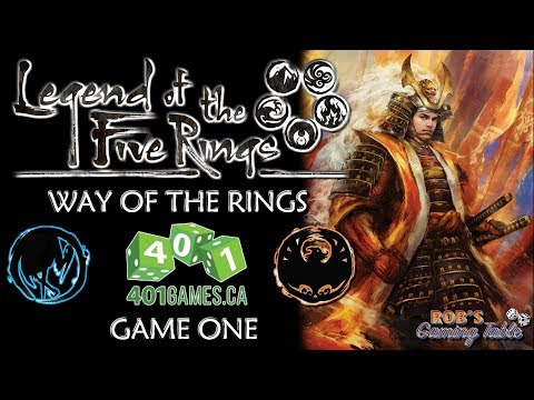 Legend of the Five Rings - Way of the Rings @ 401 Games #1