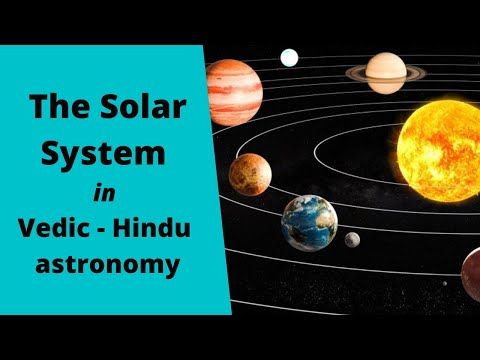 The Solar System in Vedic / Hindu Astronomy -  with background music