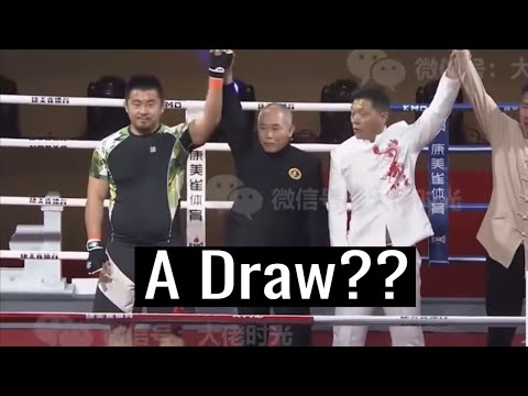 Xu Xiaodong vs Ding Hao Match Ruled A Draw - Hilarious Interview (MMA vs Wing Chun)