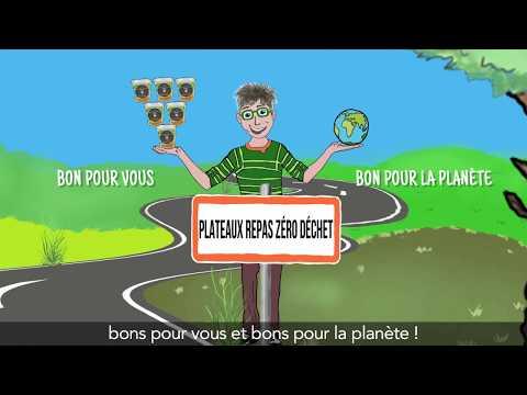 Vidéo MONSIEUR TICICOTE Plateau Repas Zero Dechet