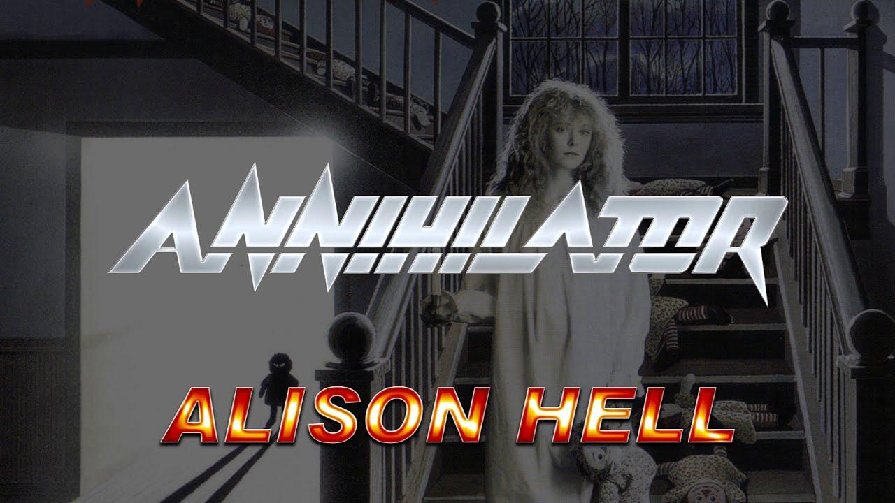 Annihilator - Alison Hell (Lyrics) HQ Audio