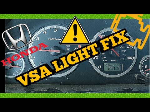 Fix Honda That Goes Limp Mode With VSA And ABS Light