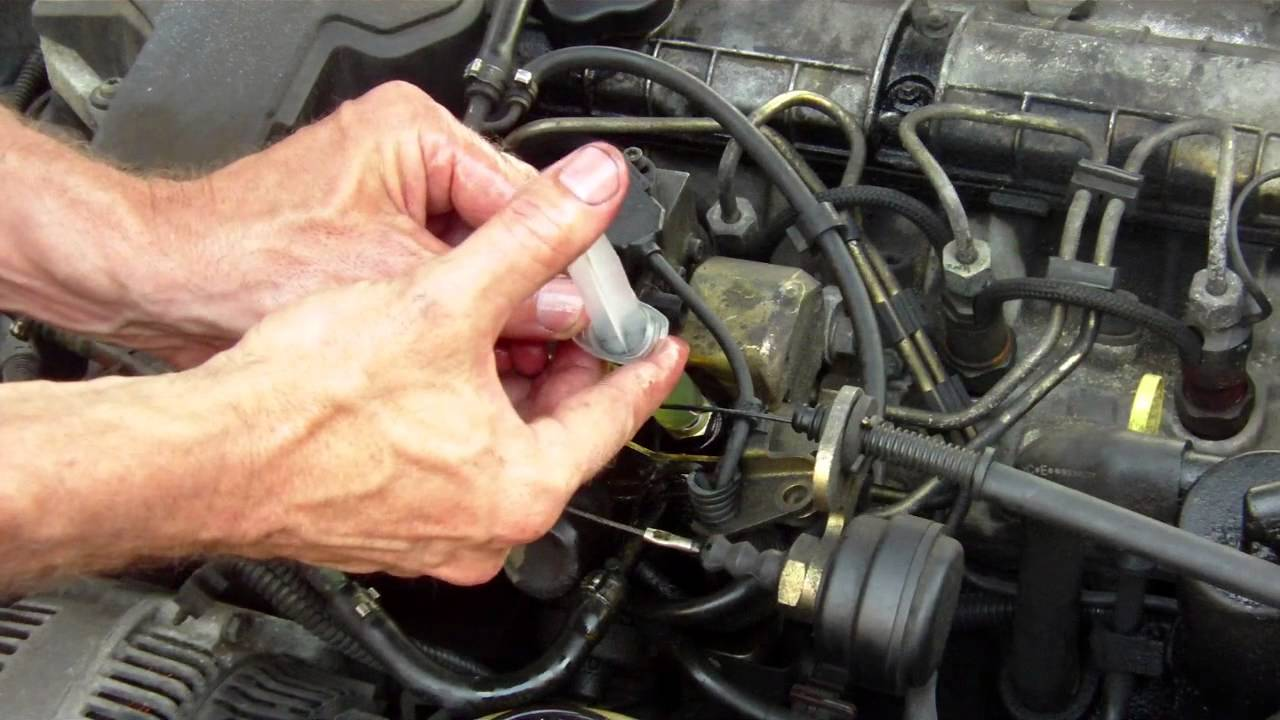 2005 Sterling Truck Ignition Switch Wiring Diagram Fuel Circuit Priming Without A Primer Bulb Step By Youtube
