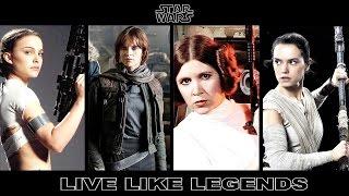 Baixar Star Wars: Padme, Jyn, Leia & Rey // Live Like Legends