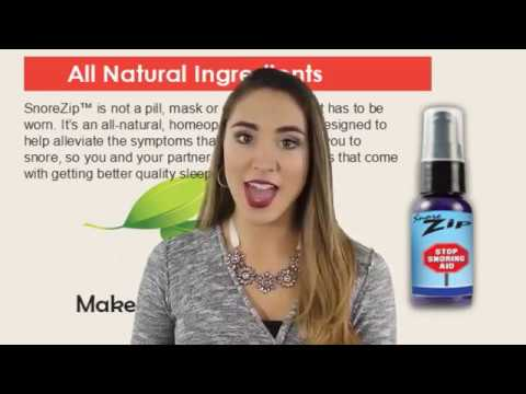Snorezip Spray Review Snore Zip Price Youtube