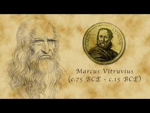 A Matemática do Homem Vitruviano de Da Vinci Por James Earle - Legendas