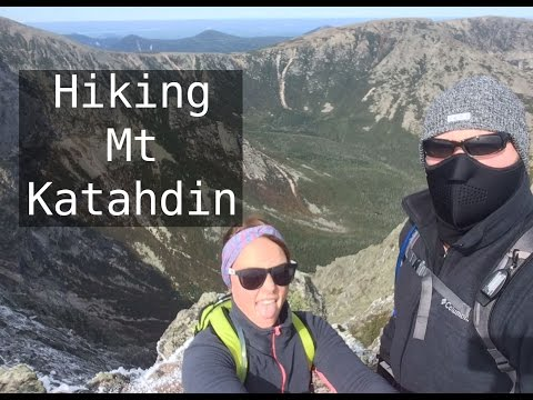 Mt Katahdin Day Hike / Knifes Edge /  Lots of Trail and Travel Footage 1080p