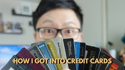 How I Got Into Credit Cards