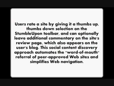 How StumbleUpon works and its history