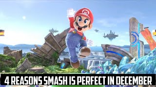 4 Reasons Why Super Smash Bros. Ultimate is in December