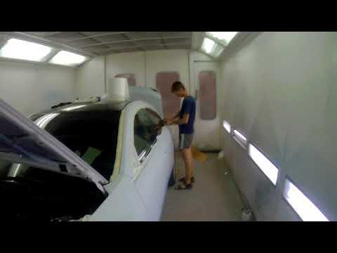 Выездная работа. Часть 4 Mazda 6. Окрас кузова белый перл. Трёхслойка.