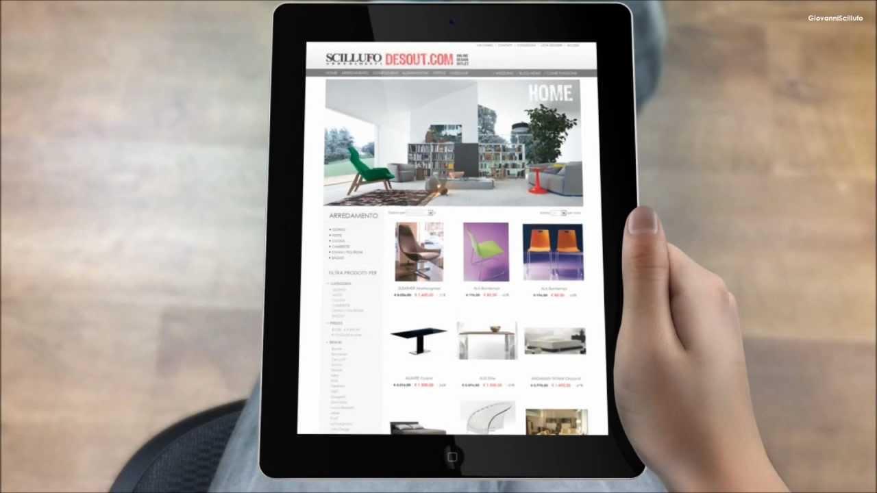 Scillufo Presenta DesOut.com | Online Design Outlet