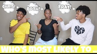 WHO'S MOST LIKELY TO CHALLENGE!!! (BANANA CREW EDITION)