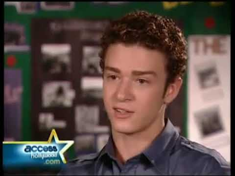 Justin Timberlake Access Hollywod Interview Early 2000's