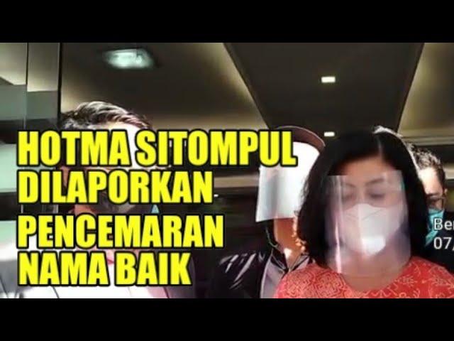 Pengacara Hotman Sitompul dilaporkan pencemaran nama baik dan penyerobotan lahan mertua